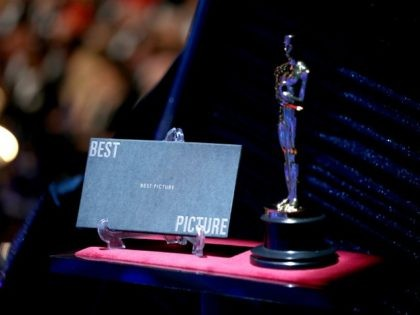 HOLLYWOOD, CA - MARCH 04: In this handout provided by A.M.P.A.S., A view of the statuette at the 90th Annual Academy Awards at the Dolby Theatre on March 4, 2018 in Hollywood, California. (Photo by Matt Sayles/A.M.P.A.S via Getty Images)