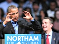 Obama campaigning for Northam