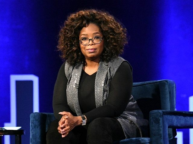 NEW YORK, NEW YORK - FEBRUARY 05: Oprah Winfrey speaks onstage during Oprah's SuperSoul Conversations at PlayStation Theater on February 05, 2019 in New York City. (Photo by Bryan Bedder/Getty Images for THR)