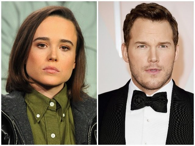 Ellen Page calls out Chris Pratt for supporting