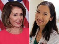 Nancy Pelosi and Dr. Leana Wen