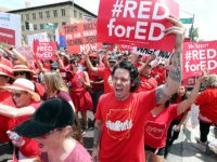 #RedForEd Campaign Fuels Second West Virginia Teacher Strike in a Year