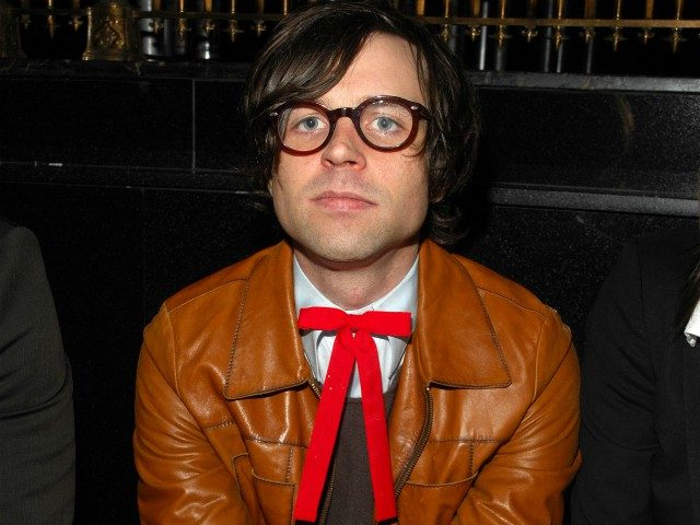 NEW YORK - FEBRUARY 05: Ryan Adams attends the G Star Fall 2008 fashion show during Mercedes-Benz Fashion Week Fall 2008 at Gotham Hall on February 5, 2008 in New York City. (Photo by Rob Loud/Getty Images for IMG)