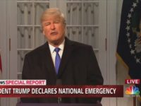 Baldwin Reprises Trump Role to Bash Rose Garden Emergency Announcement