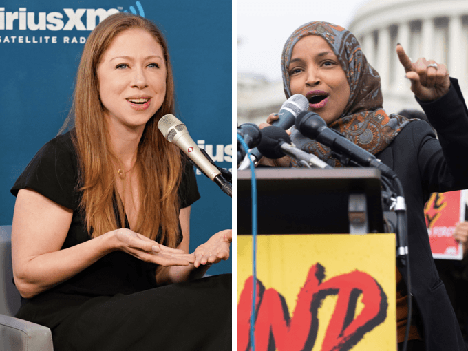 Chelsea Clinton Slams Democrat Ilhan Omar for Antisemitism | Breitbart