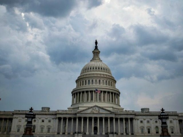 Stormy Skies over Capitol