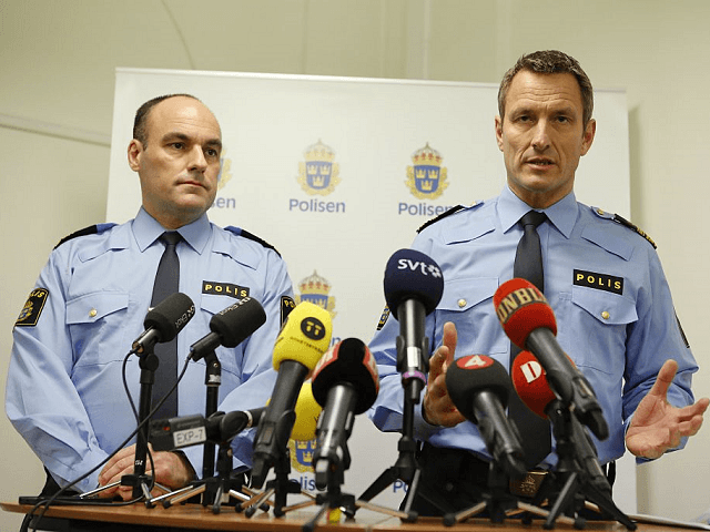 Sweden Police Migrant Crisis