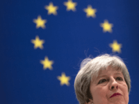 SHARM EL SHEIKH, EGYPT - FEBRUARY 25: British Prime Minister Theresa May delivers her final press conference at the end of the Arab-European Summit on February 25, 2019 in Sharm El Sheikh, Egypt. Leaders from European and Arab nations are meeting for the two-day summit to discuss topics including security, …