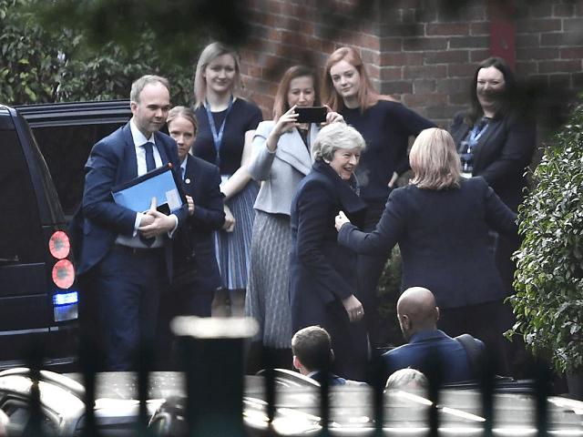 Theresa May Northern Ireland