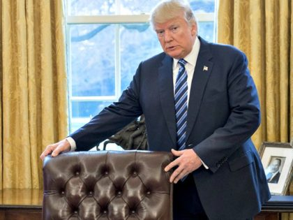 Trump, Oval Office, Chair