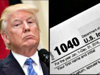 Trump, Tax Form jpg