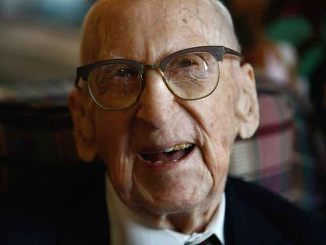 Walter Breuning, the world's oldest man
