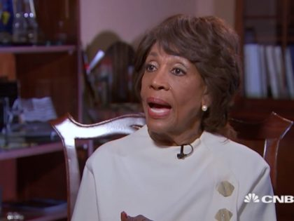 Maxine Waters in CNBC Interview, 2/1/2019