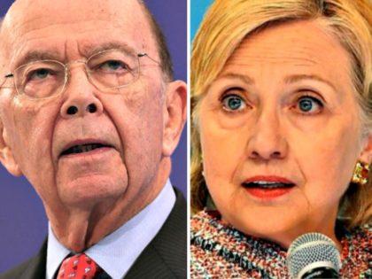 Wilbur Ross, Hillary Clinton