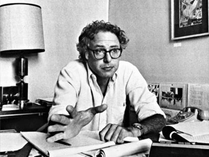 Young Bernie Sanders