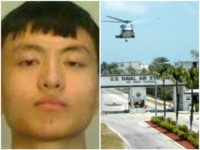 Zhao Qianli and Naval Air Station in Key West, Florida.