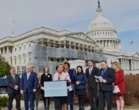 Rep. Ann Wagner (R-MO) spoke about the failure of the Born-Alive Abortion Survivors Protection Act with other pro-life lawmakers, including House Minority Whip Steve Scalise (R-LA) (second from left), and activists at a press conference at the Capitol on Tuesday.