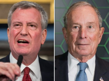 Bill de Blasio, Michael Bloomberg