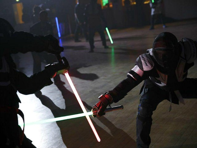 French Lightsaber Combat Turns Fencing Into Star Wars