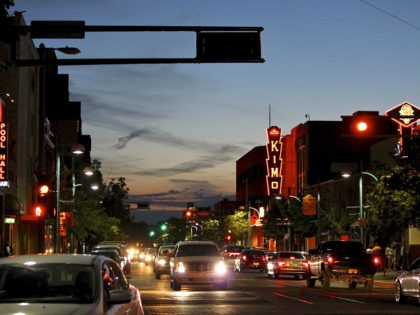 FILE - In this June 21, 2016, file photo, cars make their way along historic Route 66 in downtown Albuquerque, N.M. A new U.S. Senate proposal would designate Route 66, the Mother Road that connected Chicago to Los Angeles and was once an economic driver for small towns across the …