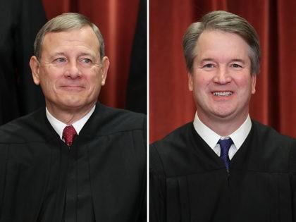 john-roberts-brett-kavanaugh-supreme-court-getty