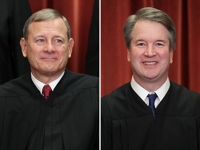 john-roberts-brett-kavanaugh-supreme-court-getty