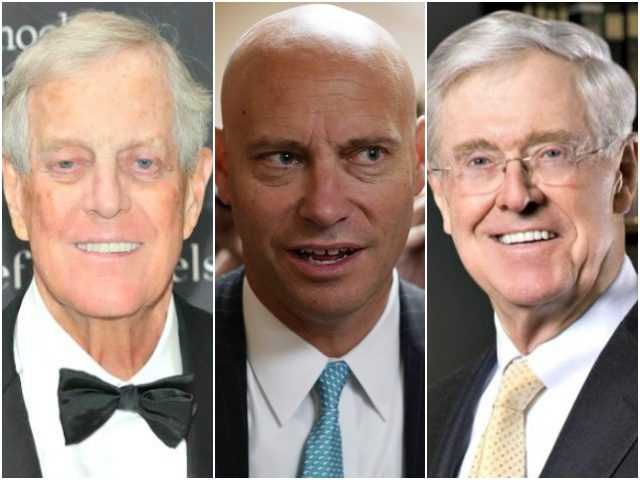 Koch Brothers and Marc Short