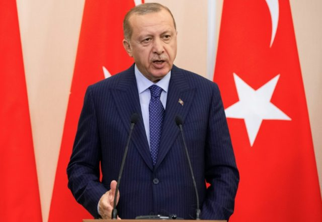 Erdogan says Turkey maintains 'low-level' contact with Syria