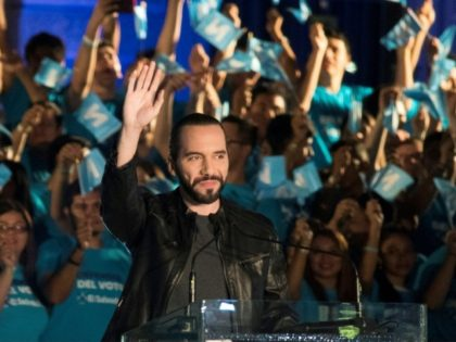 Nayib Bukele was a favorite in the polls throughout his campaign
