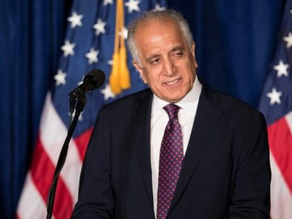 US envoy in Taliban talks seeks peace deal before July vote