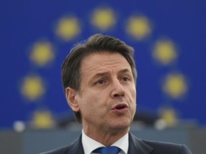 Italy's Prime Minister Giuseppe Conte came in for criticism notably over Italy's hard line on migration as he addressed a plenary session at the European Parliament