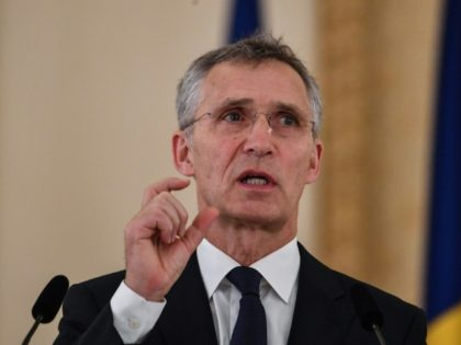 """NATO's General Secretary Jens Stoltenberg (pictured January 2019) said the alliance would beef up its defences but insisted this did not mean """"mirroring"""" any Russian build-up of missiles"""