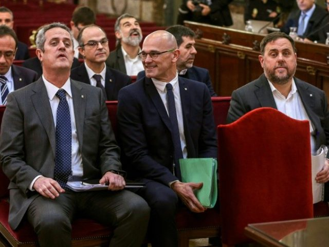 Catalan separatists' rebellion trial starts in Madrid