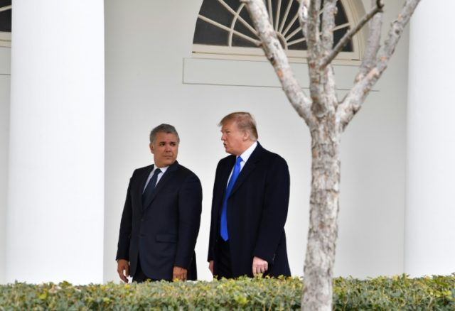 Trump blasts Venezuela over blocked US aid shipments