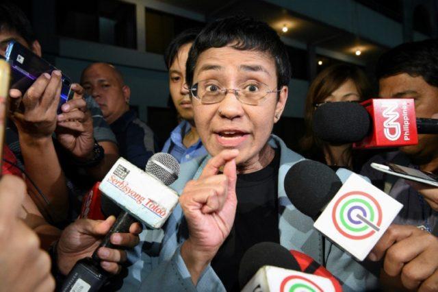 Philippines arrests Duterte critic journalist Maria Ressa
