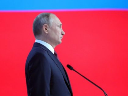 Russian President Vladimir Putin said in an annual speech that the country must address its waste problems