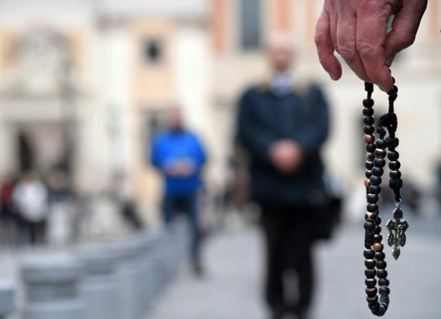 Vatican representatives met with a dozen men and women representing victims of sex abuse by Catholic priests ahead of a four-day meeting on the issue