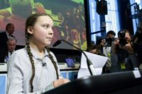 Climate activist Thunberg urges EU to double its carbon reduction targets