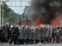 Venezuelans trapped along border after weekend unrest