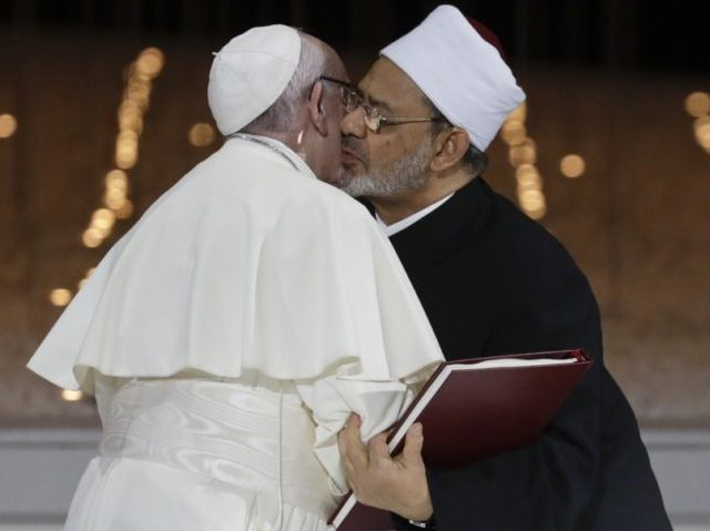 Pope Francis thanks the Madonna after UAE visit