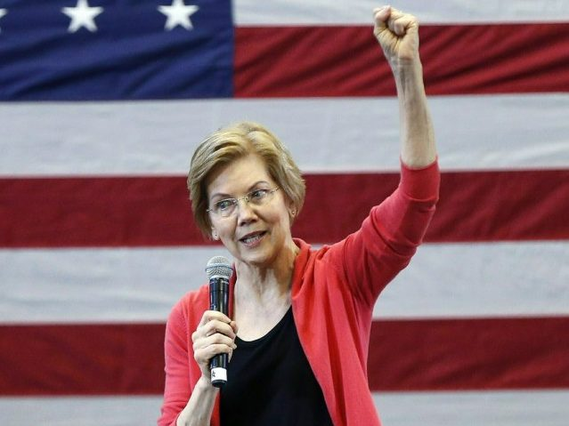 Heckler to Elizabeth Warren at Georgia Rally: 'Why Did You Lie?'