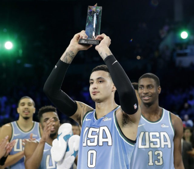 Nba all star celebrity game 2019 mvp world