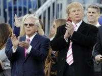 President Trump Wants Patriots Owner Robert Kraft at White House Despite Prostitution Charges