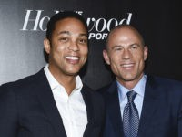 CNN news anchor Don Lemon, left, and Stormy Daniels' attorney Michael Avenatti pose together at The Hollywood Reporter's annual 35 Most Powerful People in Media event at The Pool on Thursday, April 12, 2018, in New York. (Photo by Evan Agostini/Invision/AP)