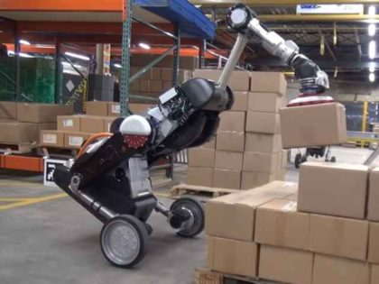 Boston Dynamics loader robot
