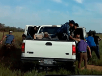 WATCH: 20 Migrants Run from Cops in Failed Smuggling Attempt 70 Miles from Texas Border