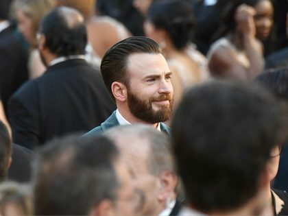 Actor Chris Evans arrives for the 91st Annual Academy Awards at the Dolby Theatre in Hollywood, California on February 24, 2019. (Photo by Robyn Beck / AFP) (Photo credit should read ROBYN BECK/AFP/Getty Images)