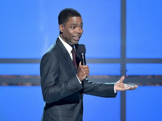 LOS ANGELES, CA - JUNE 29: Host Chris Rock speaks onstage during the BET AWARDS '14 at Nokia Theatre L.A. LIVE on June 29, 2014 in Los Angeles, California. (Photo by Kevin Winter/Getty Images for BET)