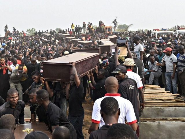 Christians massacred Nigeria