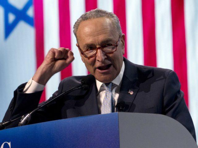 Chuck Schumer AIPAC (Jose Luis Magana / Associated Press)